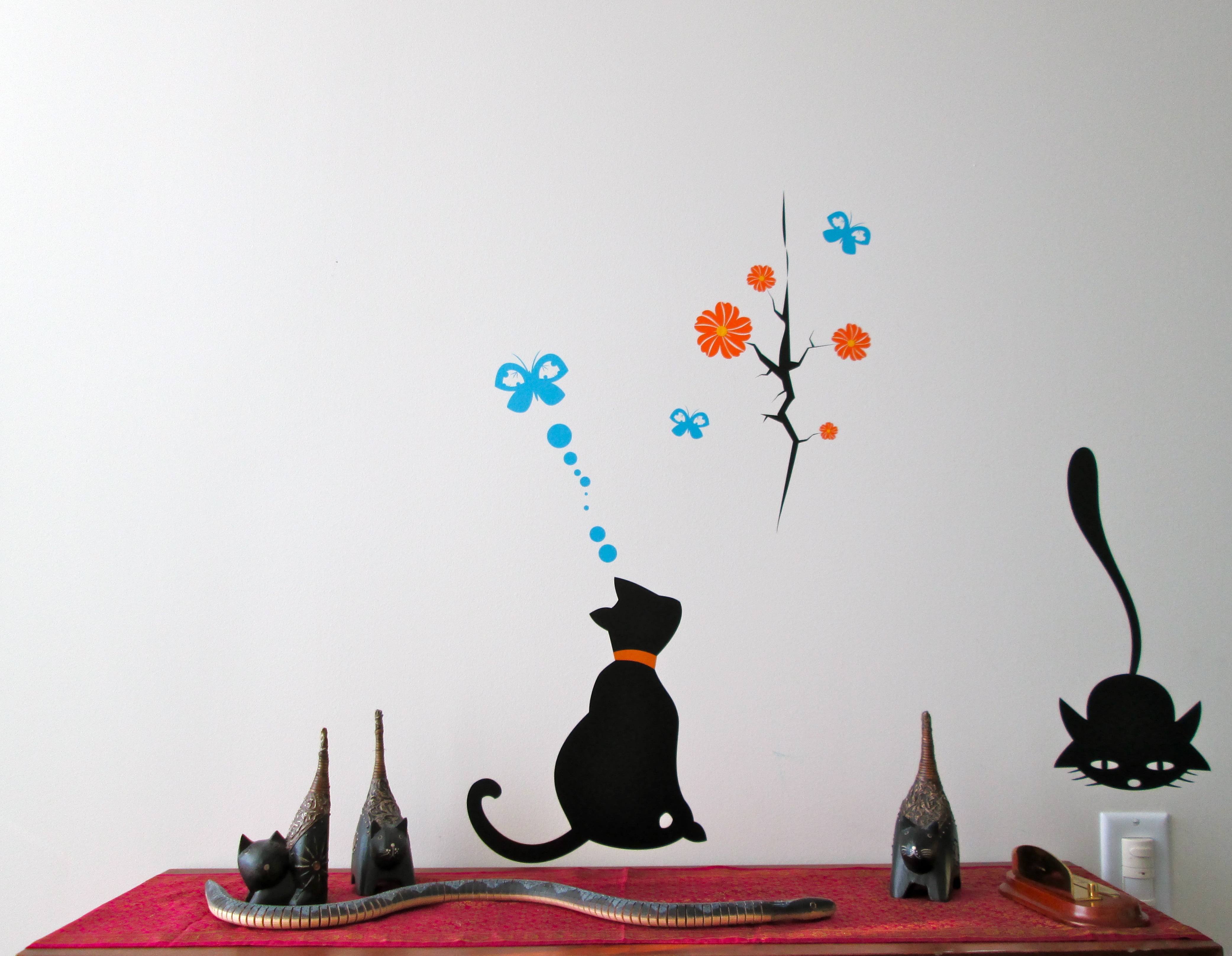 wall decals for office space color the walls of your house wall decals for office space that cats are a big theme for