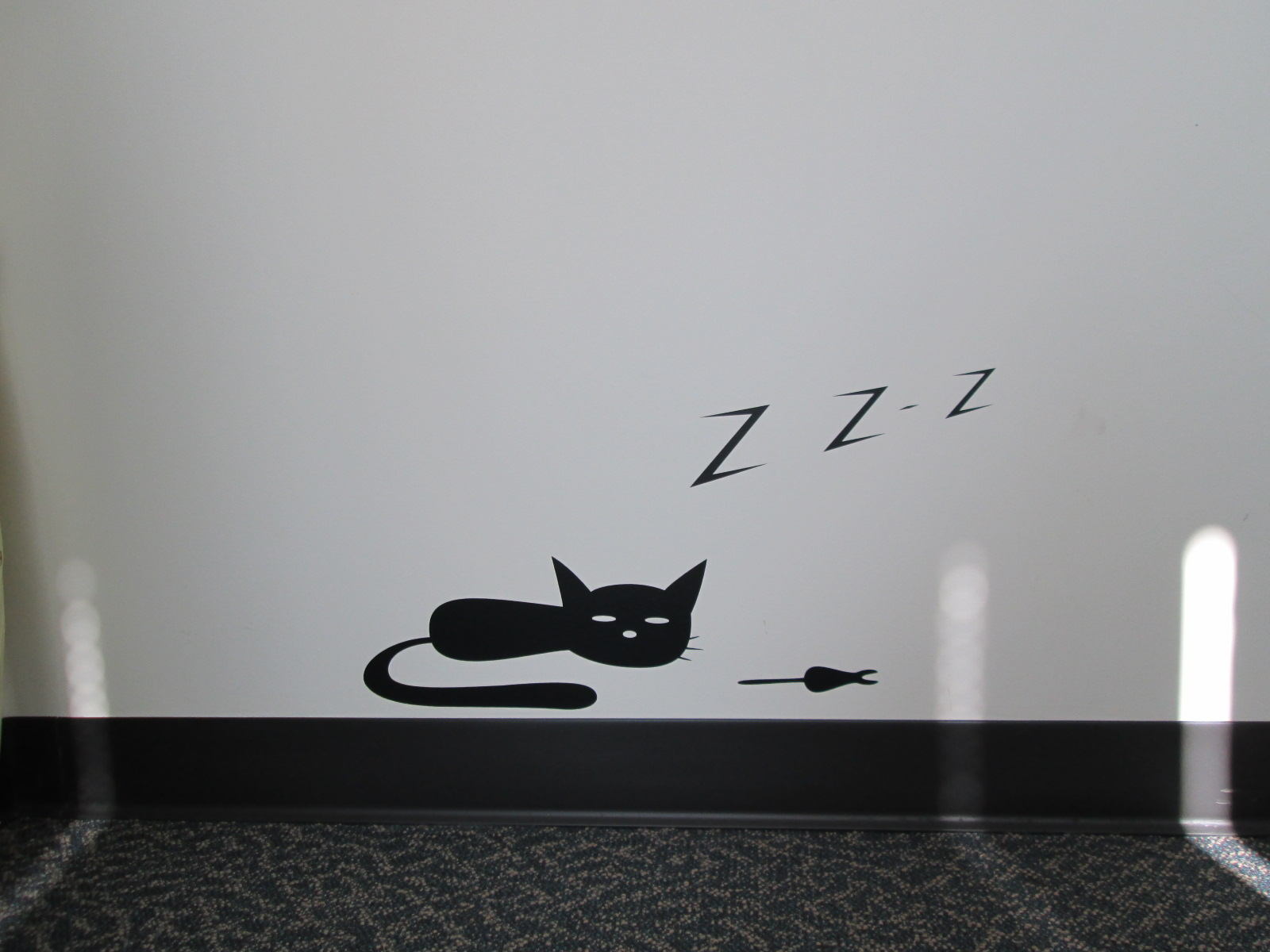 wall art for office space. You May Note That Cats Are A Big Theme For Me. I Didn\u0027t Stop With Decals Though. Wall Art Office Space