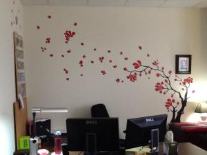 Tree in Office
