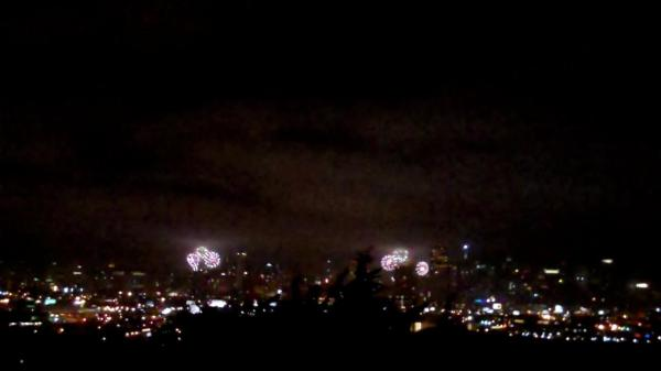 View from Potrero Hill, San Franciso, CA, July 4, 2012