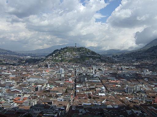 Quito, Ecuador Credit:  http://commons.wikimedia.org/wiki/File%3AVirgen_de_Quito.jpg