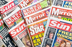 UK TABLOID NEWSPAPERS