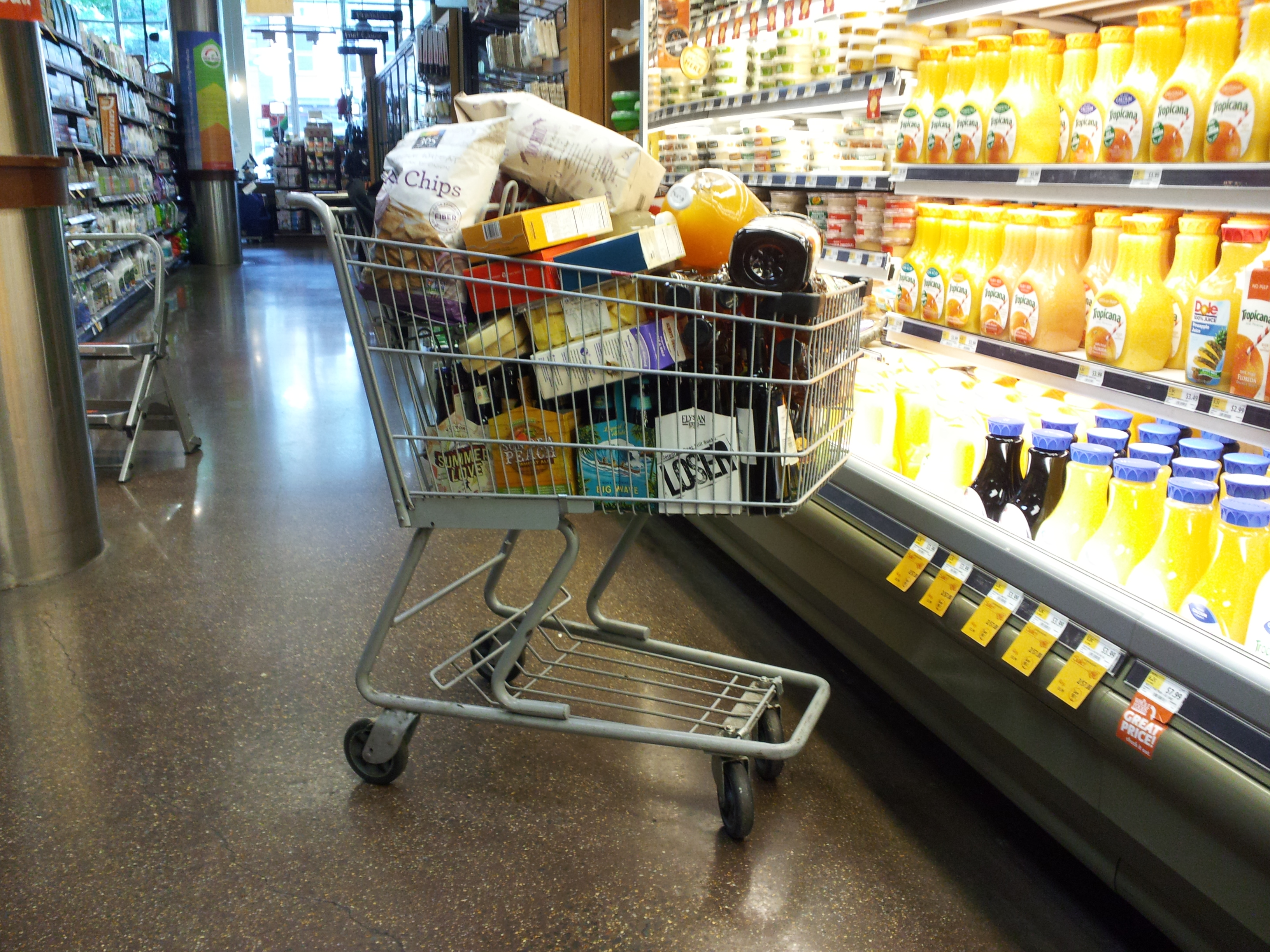 Top Ten Things Not to Do While Grocery Shopping | 1WriteWay