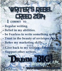 Writer's Rebel Creed 2014full