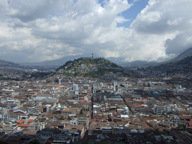 """Virgen de Quito"" by Lion Hirth (Prissantenbär) - own work (self-made). Licensed under Public domain via Wikimedia Commons - http://commons.wikimedia.org/wiki/File:Virgen_de_Quito.jpg#mediaviewer/File:Virgen_de_Quito.jpg"