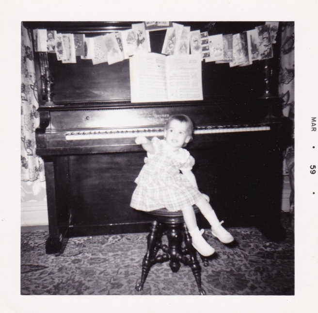 I loved banging on this piano.