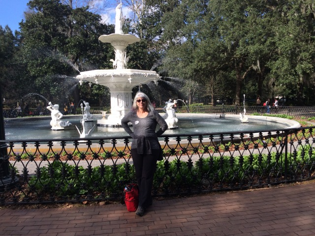Yup, me at the fountain in Forsyth Park.