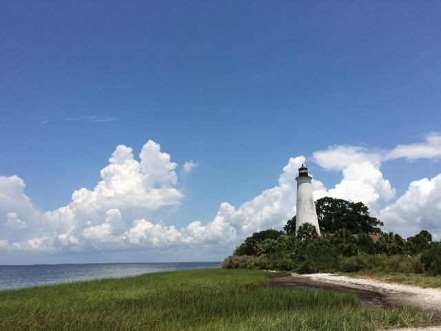 Lighthouse at St. Marks National Wildlife Refuge